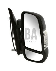 COMMON Wing Mirror: CITROEN REPLAY _ FIAT DUCATO _ PEUGEOT BOXER 2006 - 2020 ●Door Wing Mirror Short Arm Electric Heated Black Driver Rh O/S Off Side