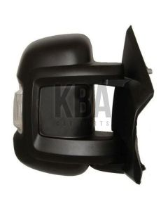 COMMON Wing Mirror: CITROEN REPLAY _ FIAT DUCATO _ PEUGEOT BOXER 2006 - 2020 ●Door Wing Mirror Short Arm Manual Heated Black Driver Rh O/S Off Side