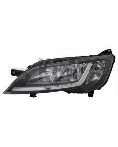 COMMON Head Lamp: CITROEN REPLAY _ FIAT DUCATO _ PEUGEOT BOXER 2014 - 2019 ●Black Headlight Headlamp Passenger N/S Left Near Side