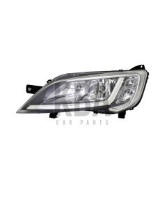 COMMON Head Lamp: CITROEN REPLAY _ FIAT DUCATO _ PEUGEOT BOXER 2014 - 2019 ●Chrome Headlight Headlamp Passenger N/S Left Near Side