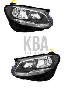 Mercedes E Class 2016- On Headlight Headlamp Pair Right Left O/s N/s