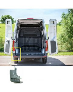 Mercedes Sprinter 2018- Rear Bumper Corner Passenger Side Lh Side End Cap