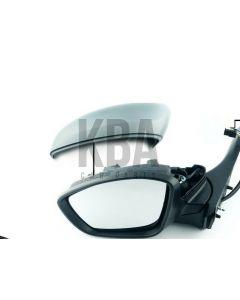 Peugeot 208 2012-2020 Power Folding Door Wing Mirror Chrome Trim Lh Left N/s
