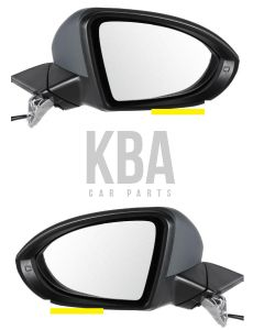 Vw Golf MK7 2013-2017 Door Wing Mirror Electric Pair Right & Left O/s N/s