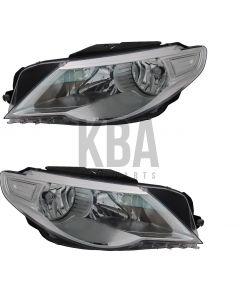 Vw Passat Cc 2008-2012 Headlight Headlamp Pair Right Left O/S N/S