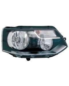 Vw Transporter 2010-2015 Headlight Headlamp Twin Rh Right Driver Side Off Side