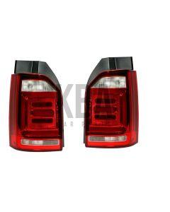 Vw Transporter 2015-2020 Rear Light Tail Lamp 1 Door Pair Set Both Right & Left