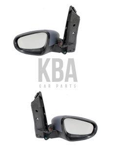 Vw Touran 2010-2015 Electric Door Wing Mirror Pair Set Both : Right & Left