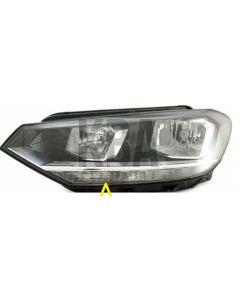 Vw Touran 2015-2020 Headloght Headlamp Passenger Near Left Side N/s Side